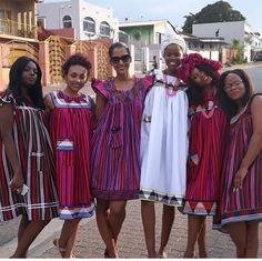 Pedi Traditional Attire, Sepedi Traditional Dresses, South African Traditional Dresses, African Wear Dresses, African Attire, Ankara Dress Designs, African Lace Styles, African Print Fashion, Blog