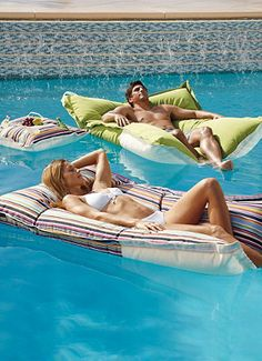 You'll never even have to get out of the pool this summer...