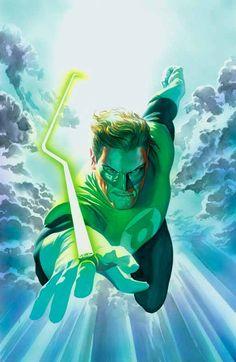 Green Lantern, by Alex Ross.