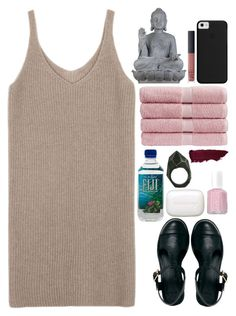 """""""How to Deal With All the Recent News"""" by karris-ma ❤ liked on Polyvore featuring Universal Lighting and Decor, NARS Cosmetics, Christy, Sisley, Lady Grey, Essie and ASOS"""