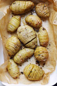 Njamelicious: Hasselback aardappelen