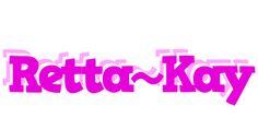 Retta~Kay LOGO * Create Custom Retta~Kay logo * Rumba STYLE *