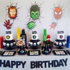 Superhero Party by Ashleigh Nicole Events  - Superhero