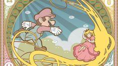 {Greeky Art Nouveau Motherload!} Art Nouveau Heroes, Heroines and More (video games, comics, Disney)
