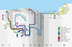 Plano completo de metro y euskotren
