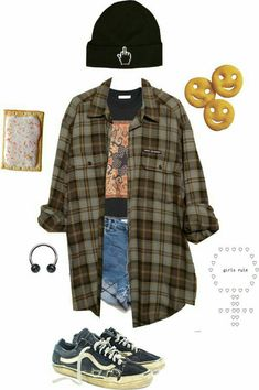 that aesthetic crack - style - Grunge Fashion Looks That Feel Very at the moment Mode Grunge, Grunge Look, 90s Grunge, Grunge Style, Vintage Outfits, Retro Outfits, Party Outfits, Aesthetic Fashion, Aesthetic Clothes