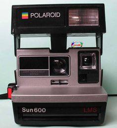 Polaroid, cámara de fotos al instante, años 80