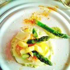 In Cucina con Mamma Agnese: Crema di Asparago all'aglio con Raspadura Uovo dop...