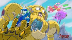 Mobile Suit Gundam Meets Adventure Time in This Strangely Awesome Mashup — GeekTyrant