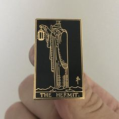 Gold Hermit Pin