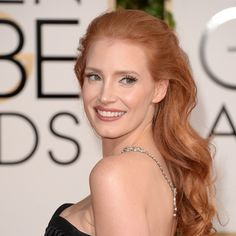 Jessica Chastain pumped up the volume at the Golden Globes