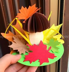 Interesting ideas for the latest crafts for demey Easy Fall Crafts, Paper Crafts For Kids, Crafts For Kids To Make, Craft Activities For Kids, Diy And Crafts, Arts And Crafts, Jungle Crafts, Kindergarten Art Lessons, Non Toy Gifts