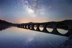 Photo 銀河鉄道 by hirosima munetaka on Mystery Of History, Milky Way, Wabi Sabi, Asia Travel, Maldives, Astronomy, Places To Travel, Greece, Australia