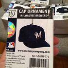 For Sale: Milwaukee Brewers MINIATURE BASEBALL CAP   ORNAMENT THE MEMORY CO. NEW 2006 http://sprtz.us/BrewersEBay