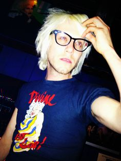 Aaron Coady (Sharon Needles) Divine t-shirt [RuPaul's Drag Race, Season 4]