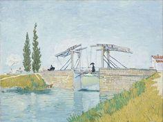 色彩の奇跡 印象派展 フィンセント・ファン・ゴッホ《アルルのはね橋》1888年