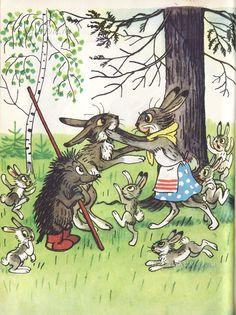 Russian stories by Vladimir Suteev Art And Illustration, Character Illustration, Story Drawing, Retro Kids, Ukrainian Art, Animal Antics, Fairytale Art, Kids Story Books, Children's Picture Books