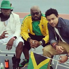 Shabba Ranks, Richie Stephens and Shaggy... jamaican music culture at its bests!