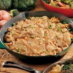 Stovetop Pork Dinner from Taste of Home