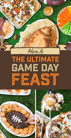 Wondering what to make at for your next football party? Have no fear! This guide's got it all under control for you!