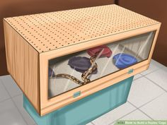 How to Build a Reptile Cage: 12 Steps (with Pictures) - wikiHow