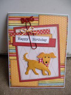 Cute Happy Birthday Card...Scrapbook.com.
