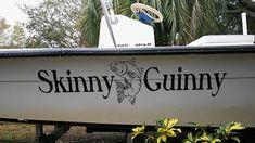 Skinny Guinny Boat Name by the Boat Name Guy. See more at www.BoatNameGuy.com