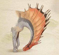 Amargasaurus' threat display, http://juancarlos-alonso.squarespace.com