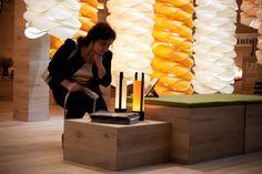 Piknik by Macalula LZF @ Euroluce 2015. April, 14 — 19. Pavilion 11 Stand C22  #LzfEuroluce #Euroluce #LZF #LZFLamps #Wood #Veneer #Lamps #Lighting