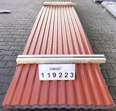 DEAL! Paket des Tages: Paket 119223 O-Metall Trapezprofil 15.75/11 Dach mit Antitropf-Vlies Paket-Inhalt:120,120m2 Materialstärke:0,80mm RAL 8004 kupferbraun Netto-Preis1.371,92 €* Inkl. 19% MwSt.1.632,58 €** Ab Lager www.o-metall.com  www.trapezblech-preis.de/Content/DetailsPaket.aspx?PAKET=119223&SPR=1