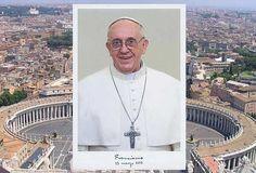 Vaticano apresenta primeira foto oficial do Papa Francisco