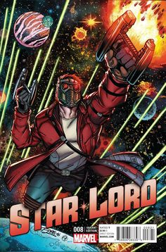 Star-Lord #8 Lim Variant