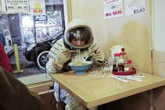 Photographer Nacho Alegre documents Alicia Framis dressed as an astronaut on the streets of New York. Nacho is one of the founders of Apartamento Magazine he lives and works in Barcelona.