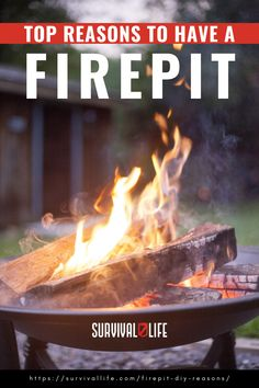 There is nothing like a nice firepit to warm yourself during cold nights. What is stopping you from having one in the comforts of your own backyard? Who knows maybe this article will is the inspiration that you need so read on. #firepit #diyfirepit #campfire #survivalskill #survival #preparedness #survivallife