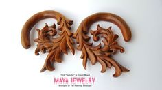 "$55 (+tax -includes shipping) 7/16"" Tewel Wood ""Nabulla"" by Maya"