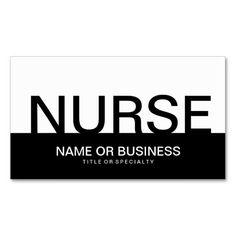 Nursing home care business card business cards and business bold nurse business card colourmoves Choice Image