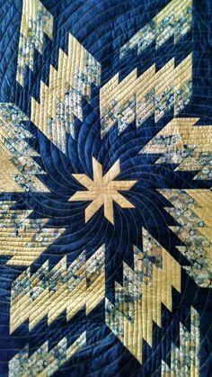Beautiful Star quilt