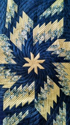Beautiful Star quilt