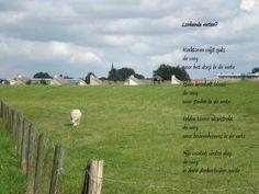 zicht op het dorp.... door Liesbeth