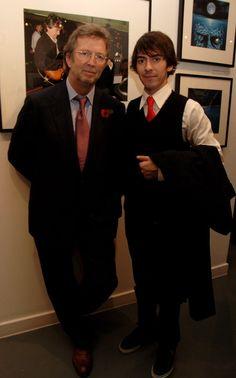 Eric Clapton and Dhani Harrison