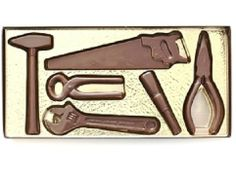 A Chocolate Tool Kit includes 6 chocolate tools.