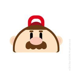 FLAT DESIGN - NINTENDO, Mario