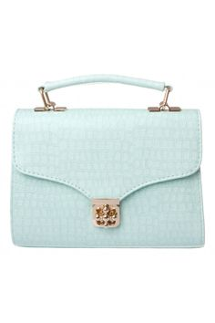 Darcy Structured Crossbody in mint #5027 - colette by colette hayman