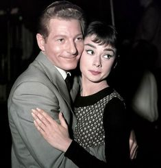 Danny Kaye and Audrey Hepburn. I don't know why this makes me so happy... Two of my favorites :)