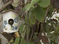 Arte Brasil | Casa de Passarinho em Tubo de PVC - Marcia Betschart