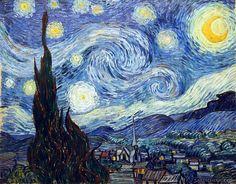 Vincent van Gogh: The Starry Night (1889) by artspheric, via Flickr