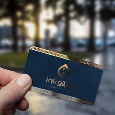 #Metal #BusinessCards from @inkgility #Bold & #Beautiful