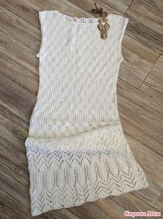 Добрый день, Странамамочки!  Я с очередным запоздалым летним хвастом  Очень хотелось ажурного платья!