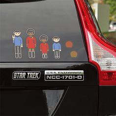Turn your car into an advertisement for your favorite sci-fi show. These Star Trek U.S.S. Enterprise Car Emblems will help to make your car feel a bit more like a starship. Plus, it's just a bonus that other nerds will honk when they see these.