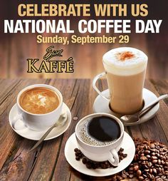Today is National #Coffee Day! Enjoy a Cup of Healthy Coffee from SISEL - The New SISEL Kaffe.  Sponsor ID# USA5078127